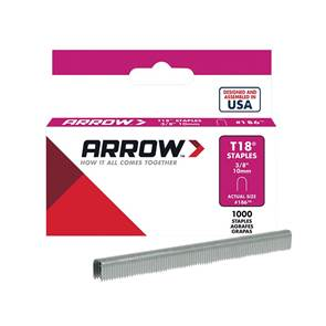view Arrow Staples T18 products