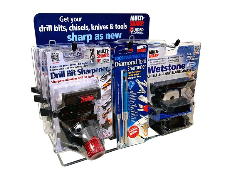 Sharpening Display Whet/Drill/Multipurp