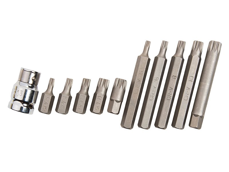 Spline Bit Set 11 Piece