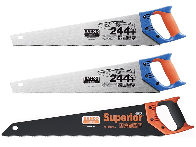 Saw Triple Pack 2 x 244P-22 Barracuda Saws + 1 x 2700-22 Hardpoint Saw