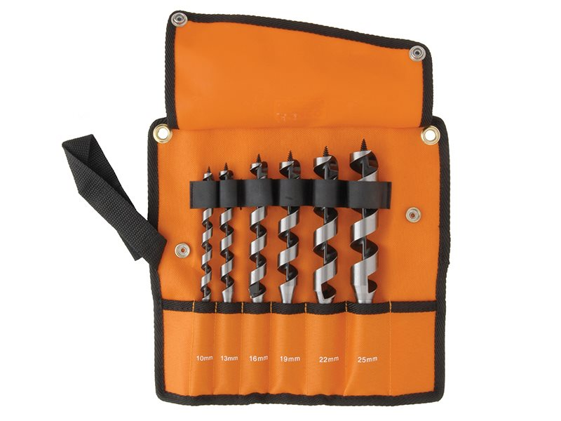 9526 Combination Wood Auger Bit Set 6 Piece 10-25mm