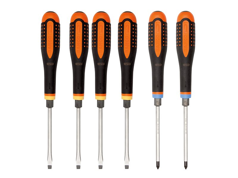 ERGO™ Through Blade Screwdriver Set, 6 Piece