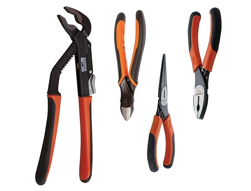 9897 Plier Set, 4 Piece
