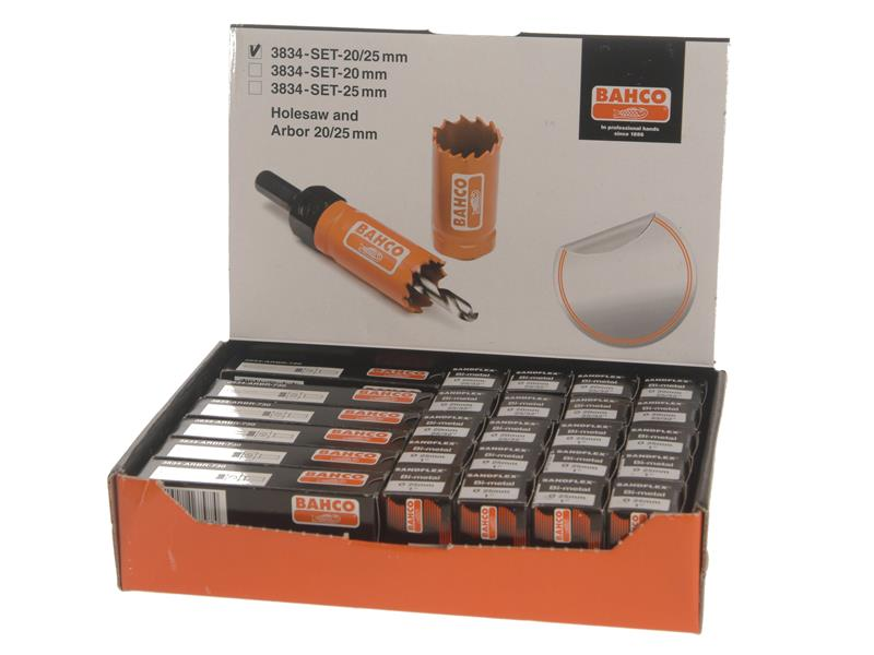Counter Top Holesaw Display Set of 32
