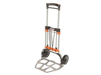 Folding Transport Trolley with Aluminium Tray 120kg Capacity