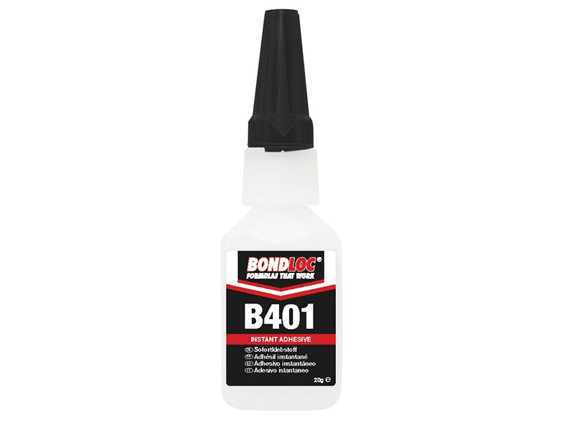 B401 Medium Viscosity Cyanoacrylate 20g