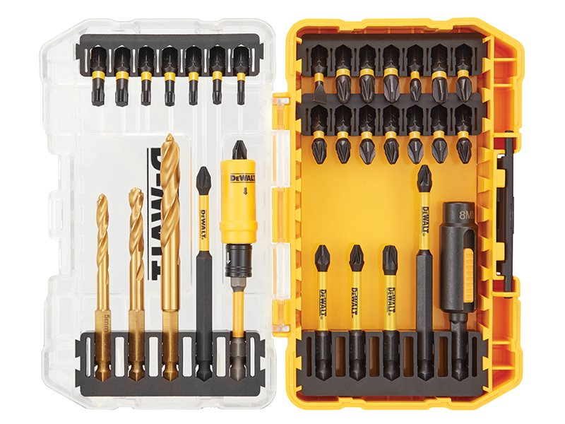 DT70741T FLEXTORQ™ Drill Drive Set, 32 Piece