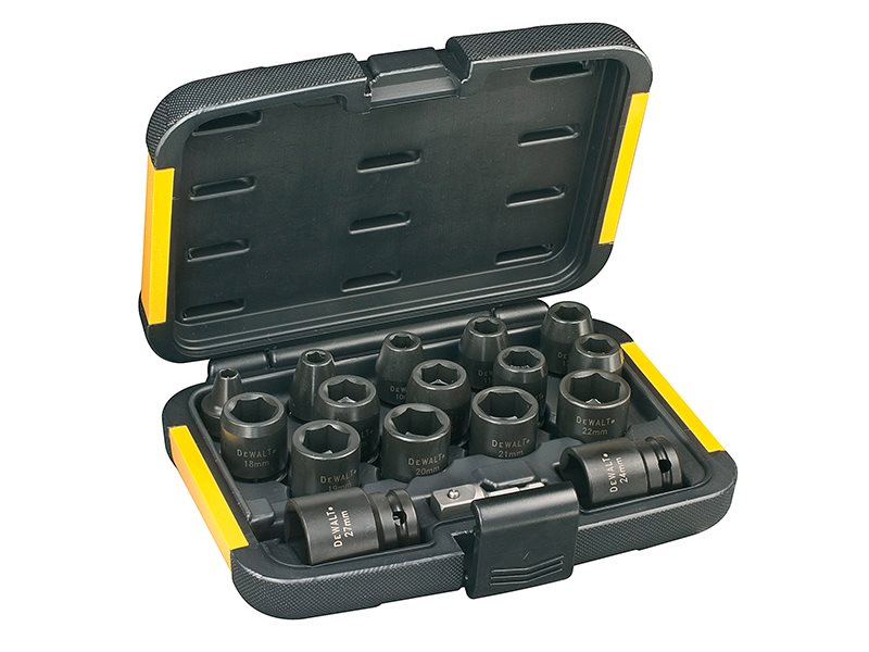 DT7506 Impact Socket Set, 17 Piece