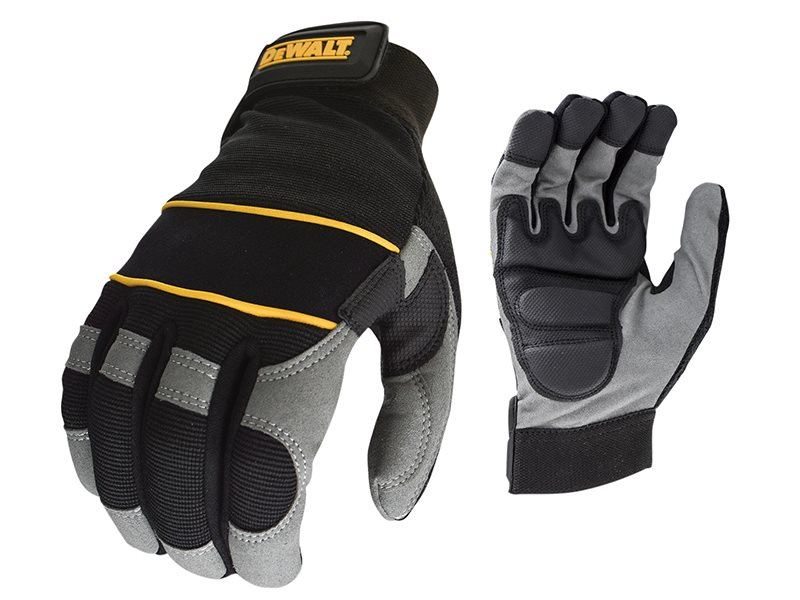 Power Tool Gel Gloves Black / Grey DPG33L
