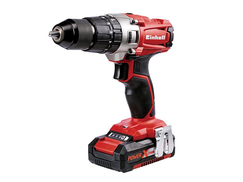 TE-CD 18/2 LI Power X-Change Combi Drill 18V 2 x 1.5Ah Li-Ion