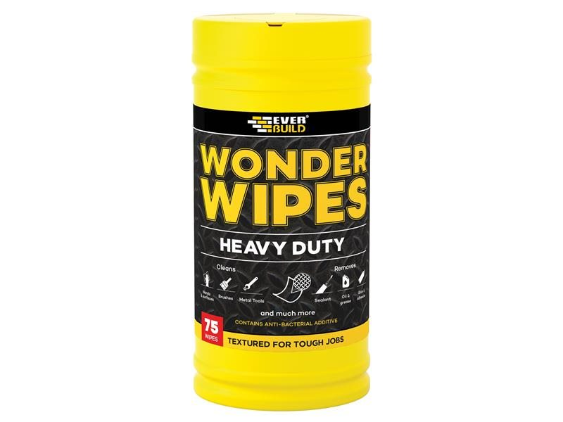 Heavy-Duty Wonder Wipes Tub of 75