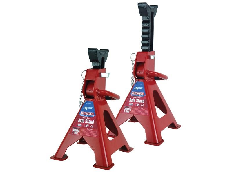 Axle Stands Quick-Release