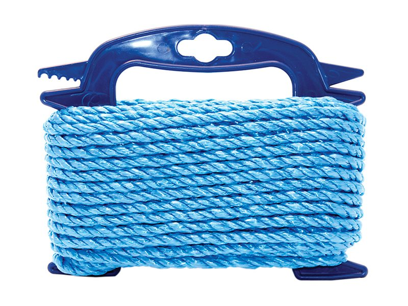 Blue Poly Rope on Hasp