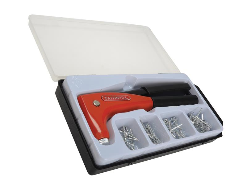 Heavy-Duty Dial Head Hand Riveter Kit
