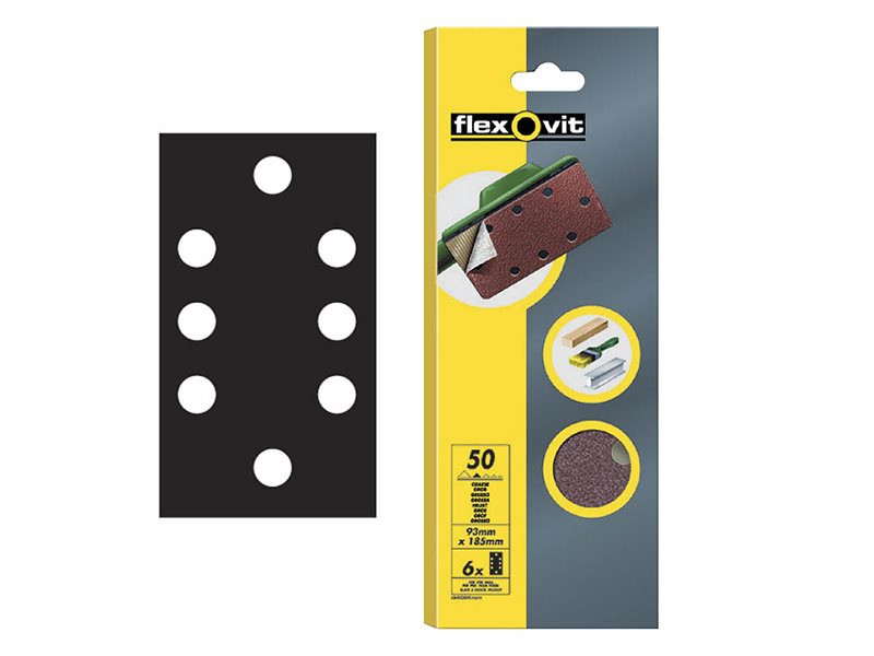 1/3 Quick Release Sanding Sheets 93 x 185mm