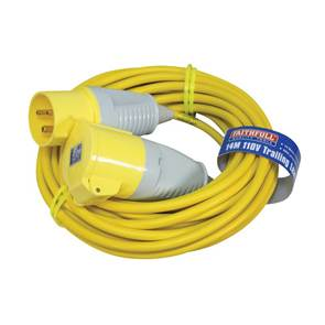 view 110 Volt Trailing / Extension Leads products