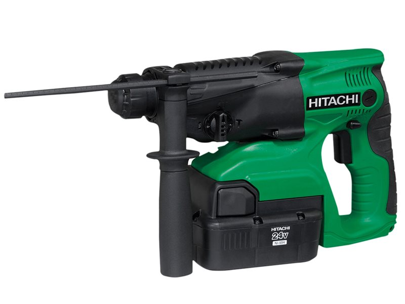 DH24DVC SDS Plus Hammer Drill 3 Mode 24V 2 x 2.0Ah NiMH
