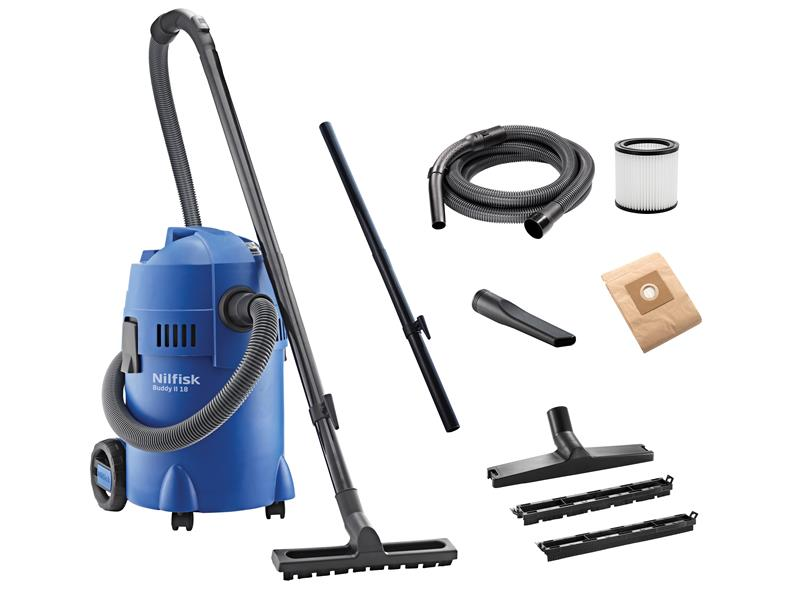 Buddy II Wet & Dry Vacuum & Blow Function 18 Litre 1200W 240V