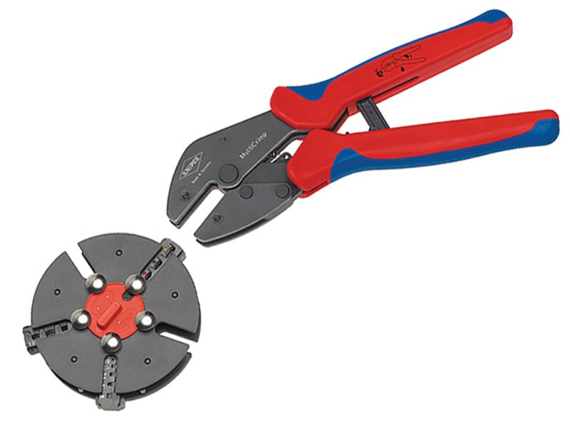 Multicrimp® Pliers Set - 3 Quick Change Cartridges