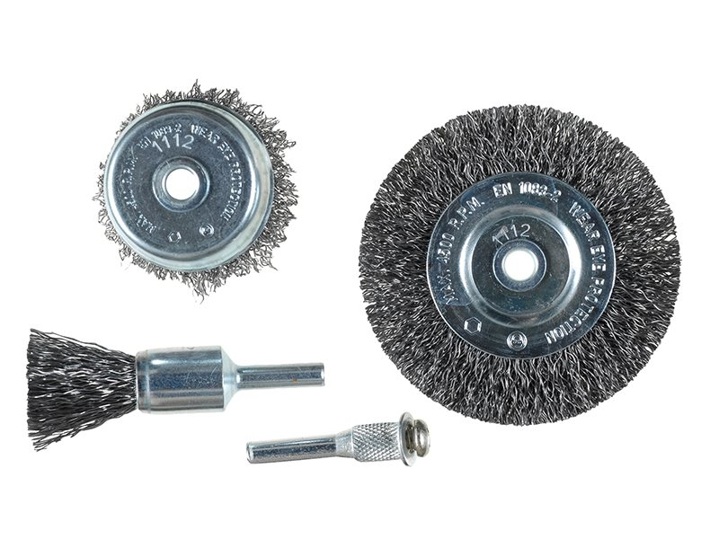 Wire Brush Set 4 Piece