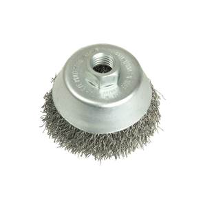 view Crimped Wire Cup Brushes for Grinders products