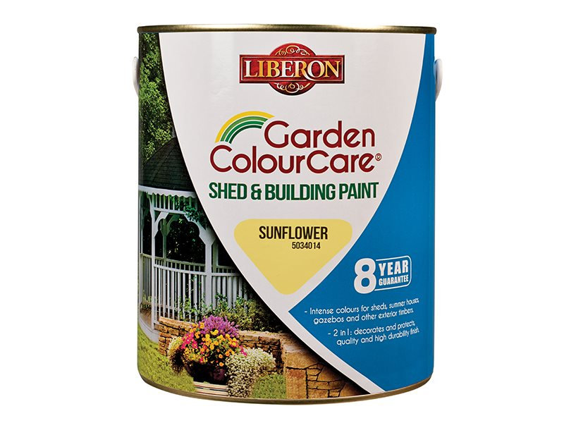 Shed & Building Paint Sun Flower 2.5 Litre