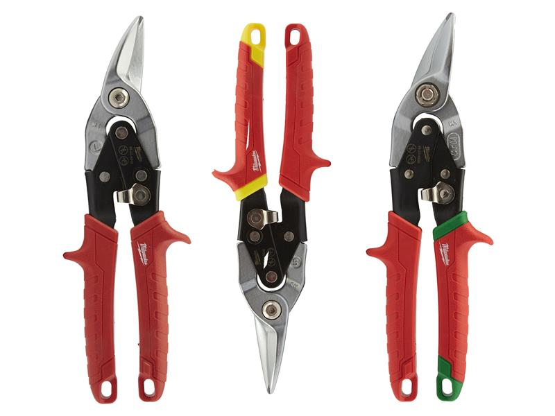 Metal Aviation Snips Set, 3 Piece