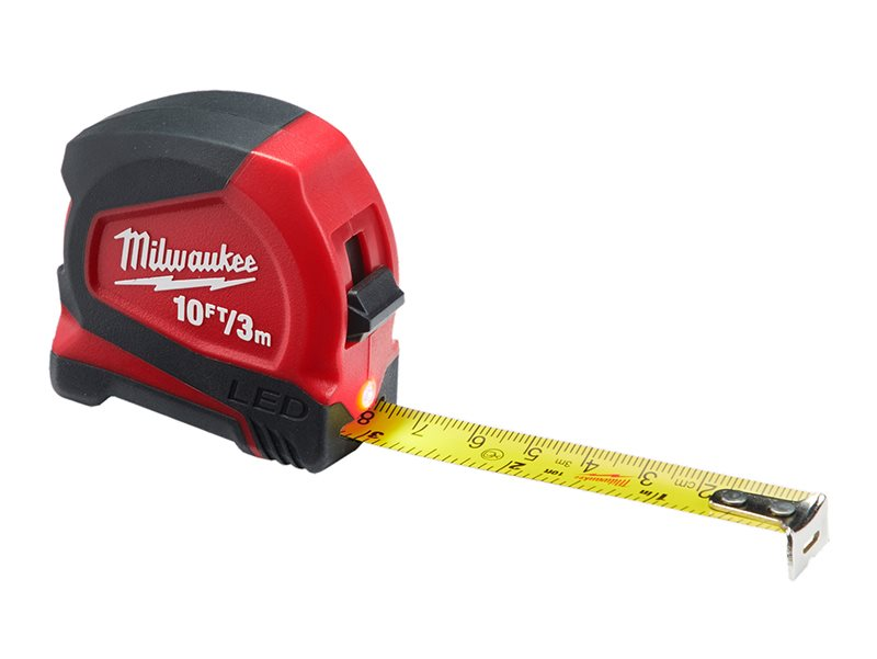 LED Tape Measure 3m/10ft (Width 12mm)