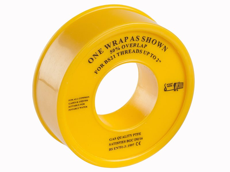 Gas PTFE Tape 12mm x 5m