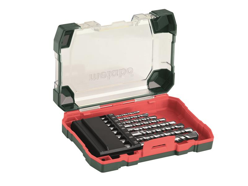 Masonry Drill Set 8 Piece 3-10mm