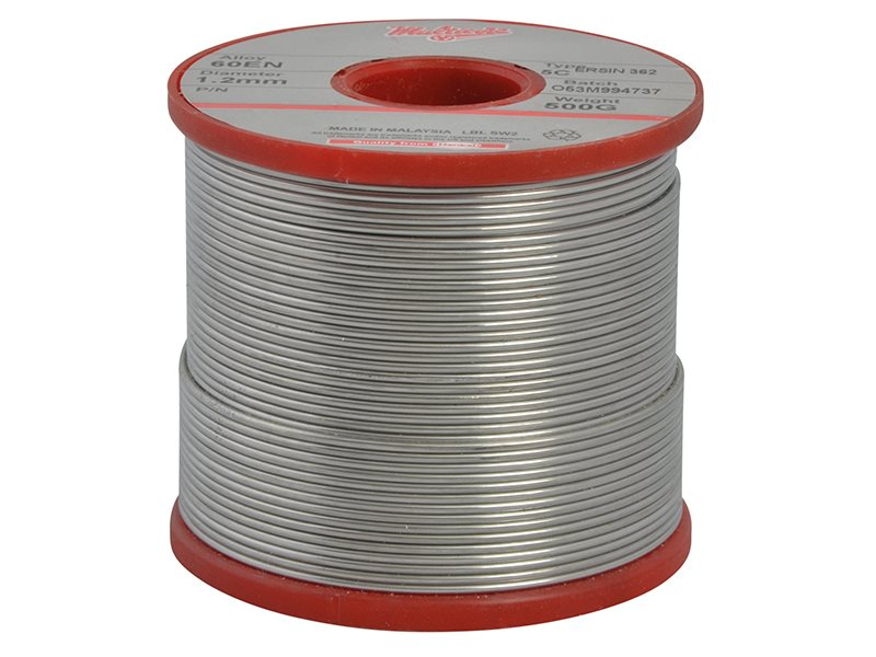 WK618 60/40 Solder 1.2mm Diameter 0.5k Reel