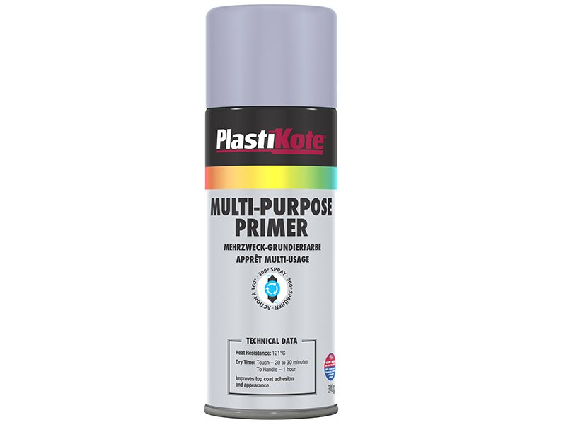 Multi Purpose Enamel Spray Paint Primer 400ml