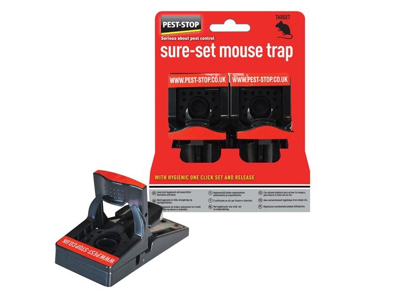Sure-Set Mouse Trap Twin Pack