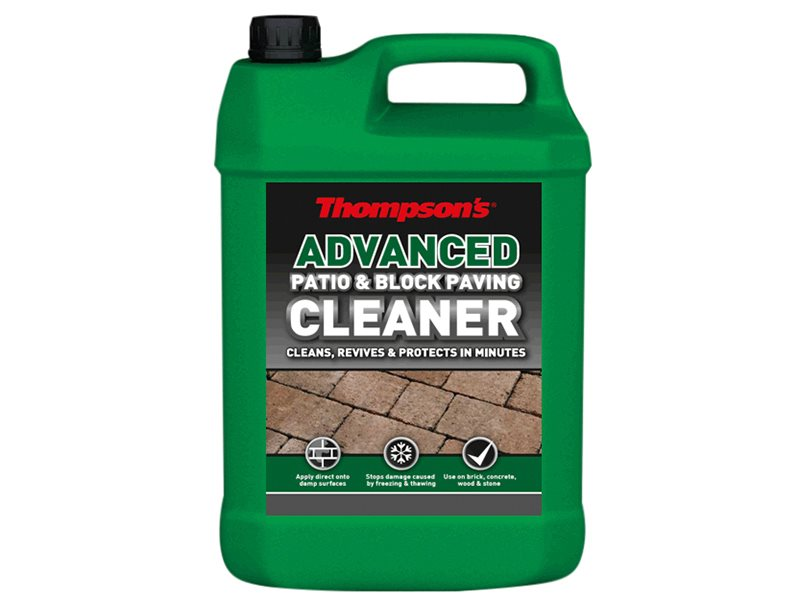 Advanced Patio & Block Paving Cleaner 5 litre