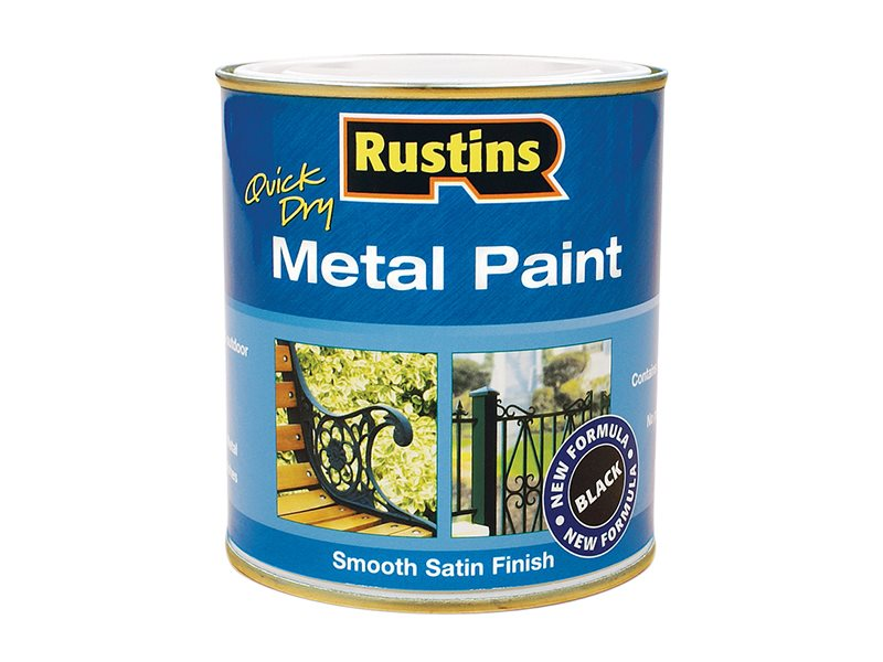 Quick Dry Metal Paint Smooth Satin