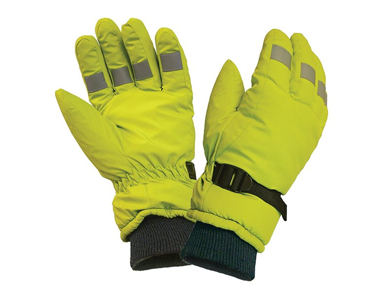 Hi-Visibility Gloves, Yellow
