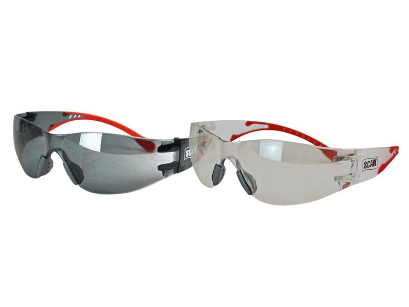 Flexi-Spec Safety Glasses Twin Pack