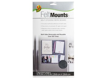 Duck® FeltMounts™ Self-Sticking Memo Board