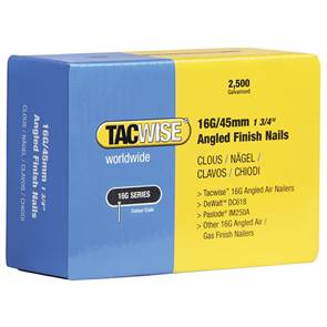 view Tacwise 16 Gauge Angled Finish Nail products