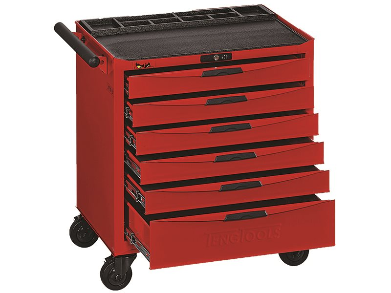 8 Series 6 Drawer Roller Cabinet