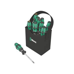 view Wera Screwdrivers Kraftform Plus 300 Series Lasertip products