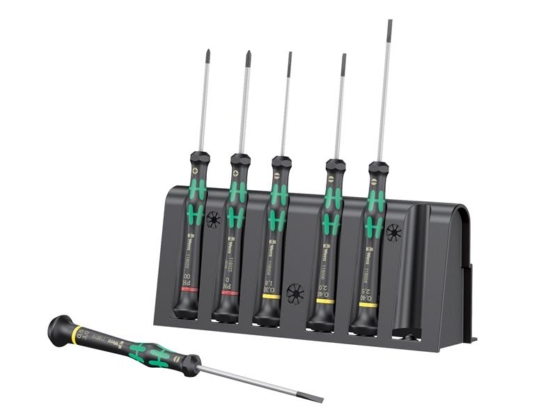Kraftform 2035/6 Micro Screwdriver Set of 6 SL/PH