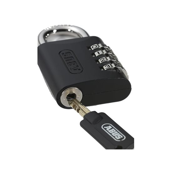 additional image for 158KC/45mm Combination Padlock with Key Override