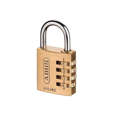 ABUS Mechanical 165 Series Combination Padlock
