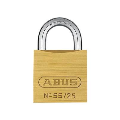 ABUS Mechanical 55 Series Brass Padlock