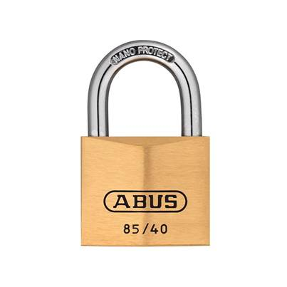ABUS Mechanical 85 Series Brass Padlock