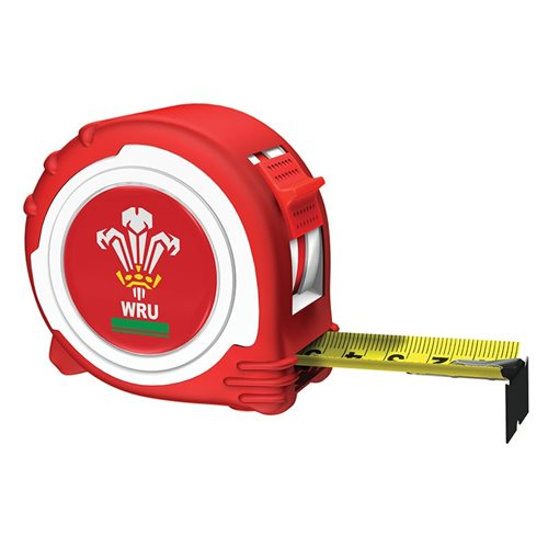 Advent Official Welsh Rugby Tape Red / White 5m/16ft (Width 25mm)