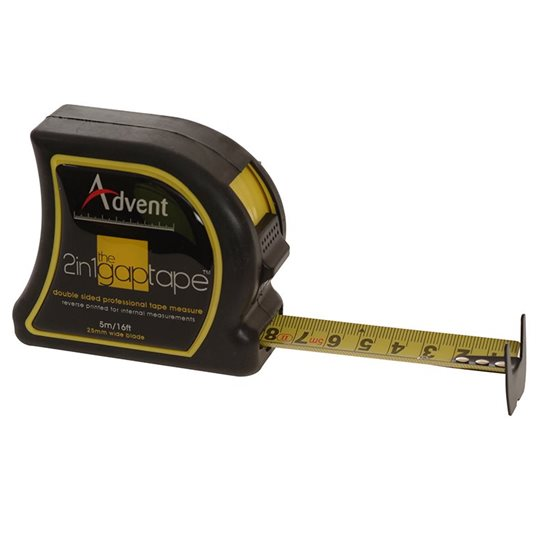 additional image for 2-In-1 Double Sided Gap Pocket Tape 5m/16ft (Width 25mm)