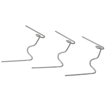 ALM Manufacturing GH001 W Glazing Clips Pack of 50