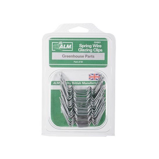 additional image for GH001 W Glazing Clips Pack of 50